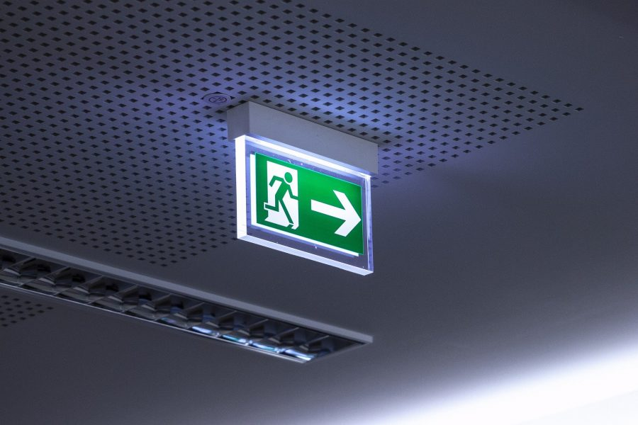 Gebauer Elektrotechnik - Fluchtweg
